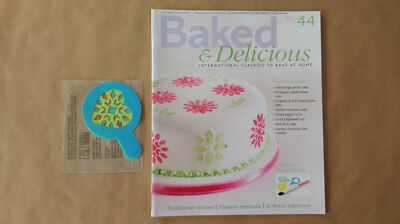 Baked & Delicious Magazine Issue 44 Set of Stencils Eaglemoss
