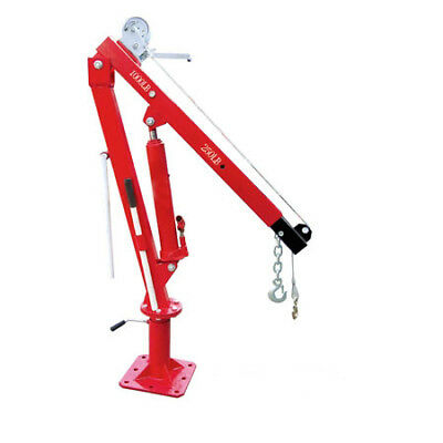 2200 Lbs Pickup Truck Crane with Cable Winch Foldable Swivel Lift Jack