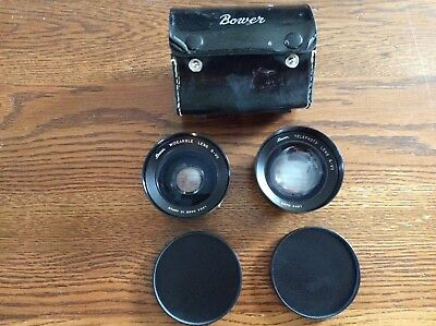 Bower S-Vii Telephoto Lens & Bower S-Vii  Wideangle Lens ( Set 2 )