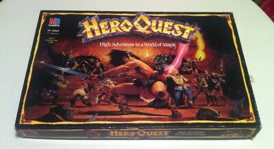HeroQuest board game - Hero Quest Complete Some Slight Damage