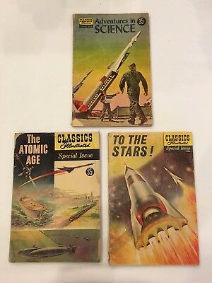 Classics Illustrated Classic Comics lot of 3 Special Issues lot S2