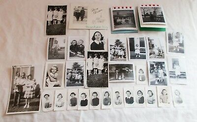 Vintage Photo Lot of Little Girls Young Ladies 46 Photos 1950's