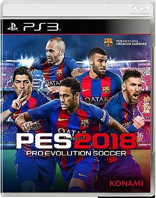 PES Pro Evolution Soccer 2018 PS3 Originale ITA  Digitale +  PATCH AGGIORNATE