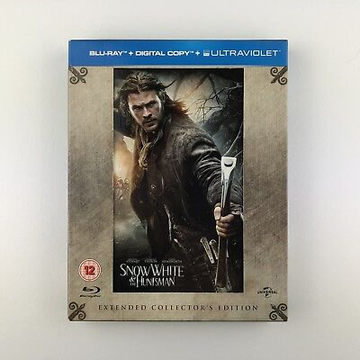 Snow White & The Huntsman - Extended Collectiors Edition (Blu-ray, 2012) s