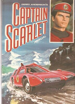 CAPTAIN SCARLET Annual - 1968 by Gerry Anderson - vintage annual