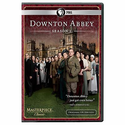 Downton Abbey: Season 2 (DVD, 2012, 3-Disc Set) NEW, sealed