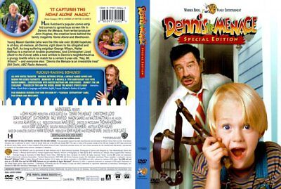 Dennis the Menace Special Edition DVD with Case and artwork.