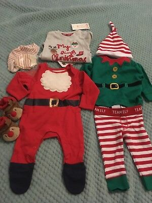 CHRISTMAS BABY NEW BORN BUNDLE UP TO 1 Month..new