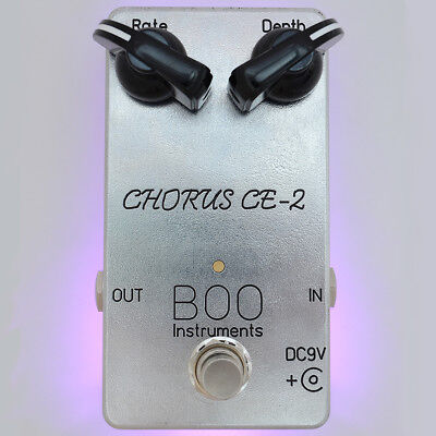 Chorus CE-2 BOO Instruments Boutique Analog pedal for boss JC-120 JC-160
