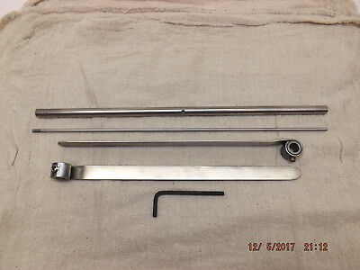 Kelsey 6x10 early model Gripper Assembly - 2 grippers + bar + spring