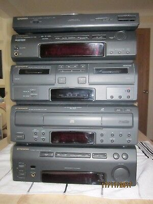 Pioneer Separates Stereo System