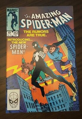 The Amazing Spider-Man #252 (May 1984, Marvel) high grade