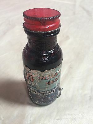 Indian Head Shellac Compound Bottle