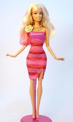 Barbie Doll Party dress wedding gown Casual wears clothes Outfit C1110318