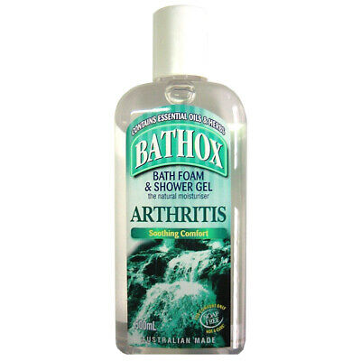 Bathox Shower Gel &Bath Foam Arthritis 500ml Soothing Comfort Relief Moisturiser