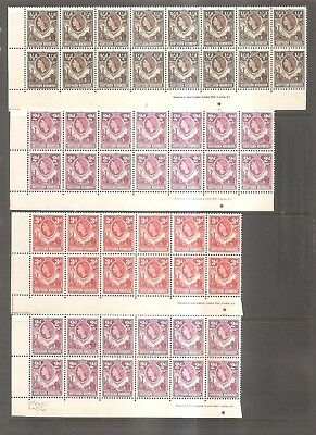 British Commonwealth - Mint Blocks of Stamps - Northern Rhodesia.