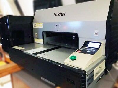 USED COLOR WORKING Brother GT541 Direct to Garment DTG Printer BUNDLE $4499 OBO