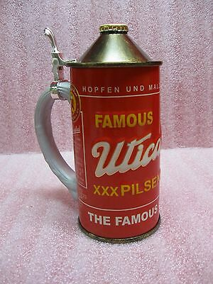 Utica Club Red Pilsner Beer Can Character Stein - Limited Edition - Numbered