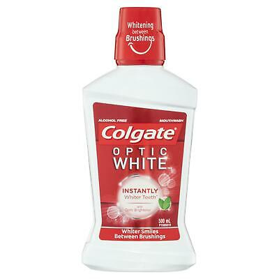 Colgate Optic White Mouthwash Sparkling Fresh Mint 500 ml