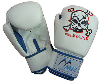 Boxing Gloves MMA Sparring Punch Bag Muay Thai Training Synthetic Leather Gloves