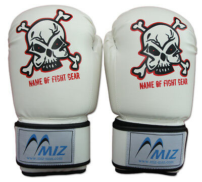 Boxing Gloves MMA Sparring Punch Bag Muay Thai Synthetic Leather Training Gloves