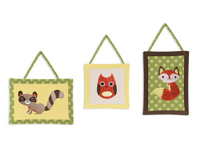 Wall Art Decor Hangings Woodland Forest Animals Accessories by Sweet Jojo Design