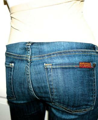 Maternity 7FAM A PEA IN THE POD 7 For All Mankind Jeans Sz 25x29 SKINNY Leg