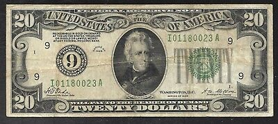 US - 20 Dollar Federal Reserve Note - 1928 - Minneapolis Fed. - FINE