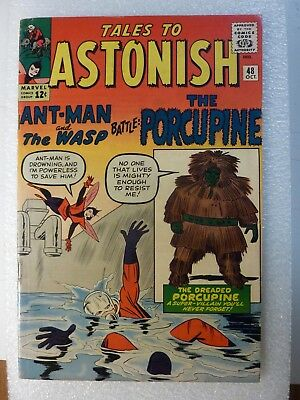 Tales To Astonish 48 Ant-Man First Appearance Of Porcupine Oct. 63  Avengers
