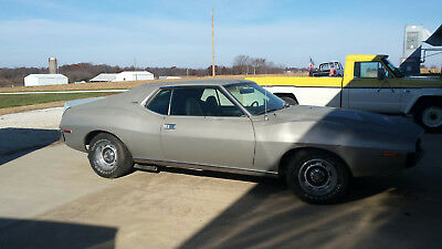 1973 AMC AMX amx javelin 1973 amx javelin 360 4-speed