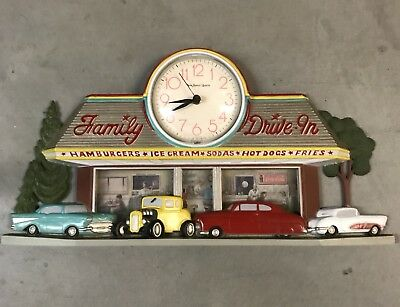 Burwood Family Drive In Clock