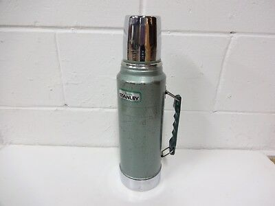 Vintage 1987 Stanley Aladdin A-944Dh 1 Quart Thermos With Cup Very Good Used