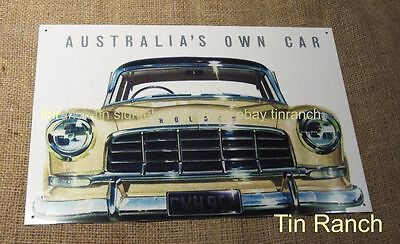 vintage FC HOLDEN TIN SIGN new ADVERT retro classic car metal picture Australian