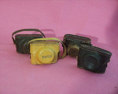 Four Cases For Hit Type Cameras, All Different Names, All used