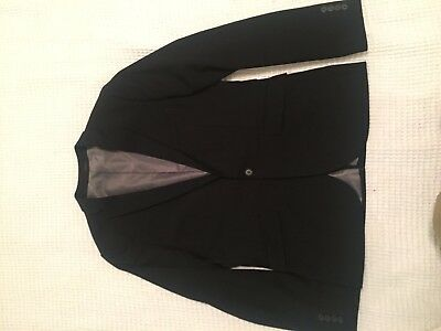 Topman SUIT AND PANTS SET Dark Navy, Like New w/ Bag and shoes and red tie