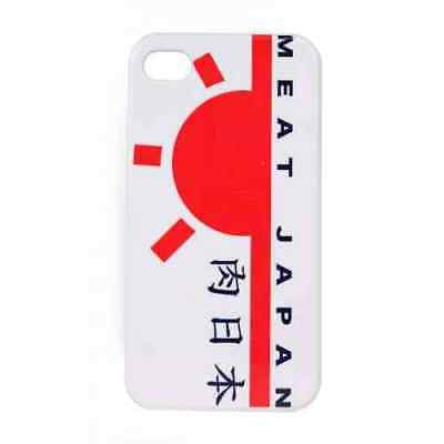 Coque iPhone 5 5S SE Blanc Meat Japan - Plastique