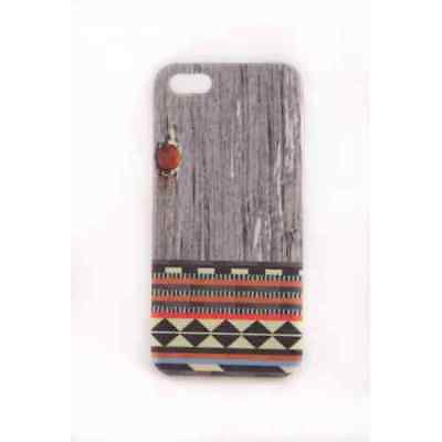 Coque iPhone 5 5S SE Wood Navajo Meat Japan - Plastique
