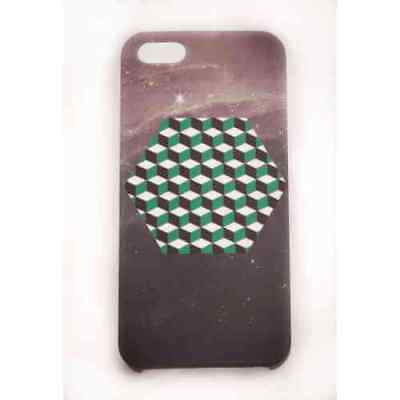 Coque iPhone 5C Green Cube Meat Japan - Plastique