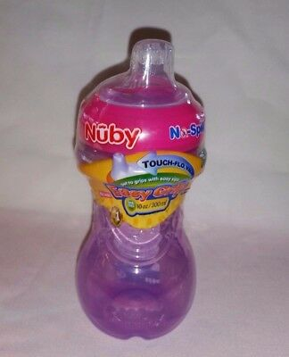 Nuby No-Spill Easy Grip Cup Soft Spout 10oz