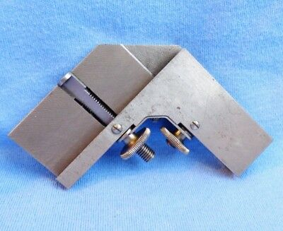 Vintage Lufkin Rule No. 18B Right Angle Rule Clamp ~ Precision Machinist's Tool