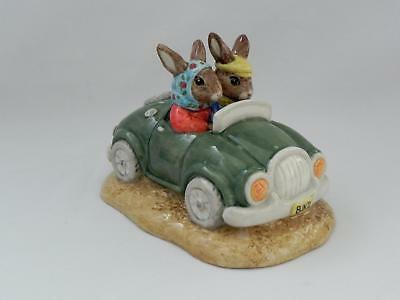 Royal Doulton  Bunnykins *DAY TRIP* DB 260 Limited Edition - Excellent Condition