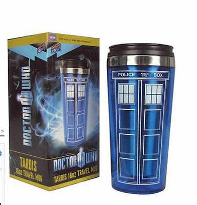 Doctor Who Tardis Mug Stainless Steel Vacuum Thermoses Travel Mug cups Cup