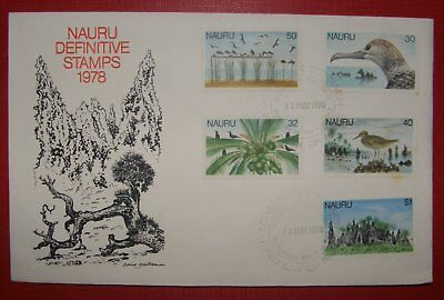 Nauru Definitve Stamps - First Day Cover
