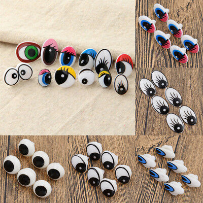 10pcs Funny Lovely Cartoon Safety Eyes For Toy Doll Animal Puppet DIY Craft