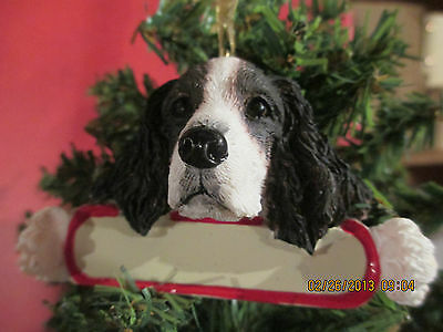 Springer Spaniel Ornament  # 42