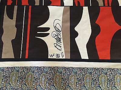 Howard Smith Art Fabric 1980s African-American