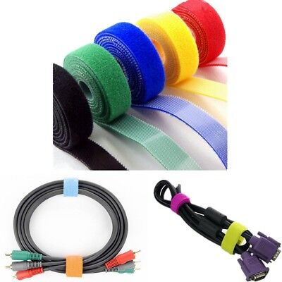 Back To Back Hook And Loop Fastener Self-Gripping Strap Cable Tie 5M Pop