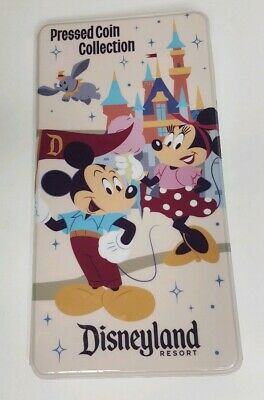 Disney Parks Disneyland Pressed Coin Collection Book Penny Quarter 2018 NEW