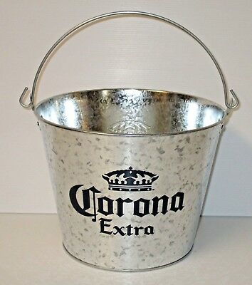 Corona Extra Beer new metal drink ice cube bucket for home bar brew or collector
