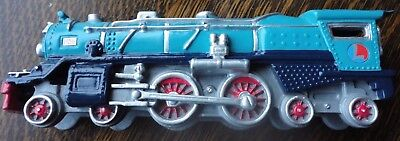"""Avon Lionel Classic Train Collecition """"blue Comet"""" With Wood Stand Nrmt"""